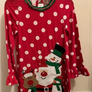 Counting Daisies Christmas dress